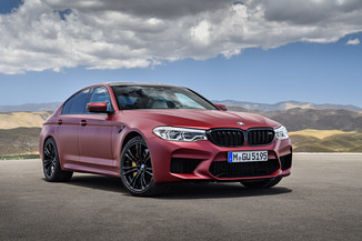 BMW M5 4.4 V8 625ch Competition M Steptronic Euro6d-T-EVAP 238g