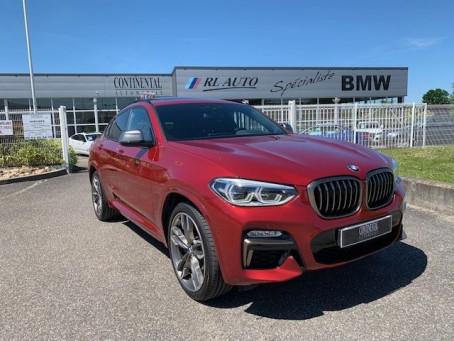 BMW X4 M40dA 326ch Euro6d-T 9400km