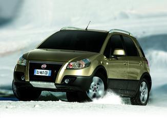 FIAT Sedici 1.6 16v 107ch Dynamic 4x4 5p