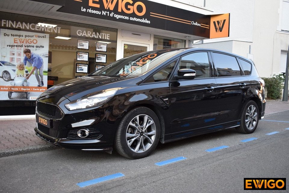 FORD S-MAX 2.0 TDCi 180ch Stop&Start ST-Line i-AWD PowerShift