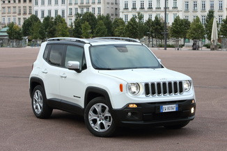 JEEP Renegade Génération I Phase 2 1.6 MultiJet 120ch Limited