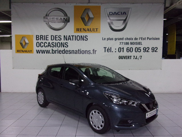 NISSAN Micra (5) 1.0 IG 71ch Visia Pack 2018 Euro6c