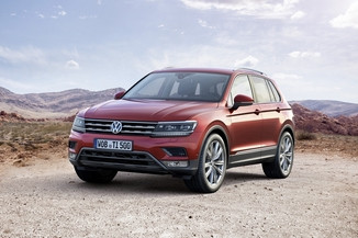 VOLKSWAGEN Tiguan Génération II Phase 1 2.0 TDI 150ch BlueMotion Technology Confortline